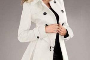 Белое пальто: как его носить?