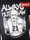 Футболка Punch - Always Outlaw, Molotov, Black