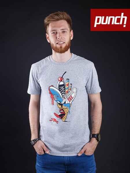 Футболка Punch - Ice Cream, Grey
