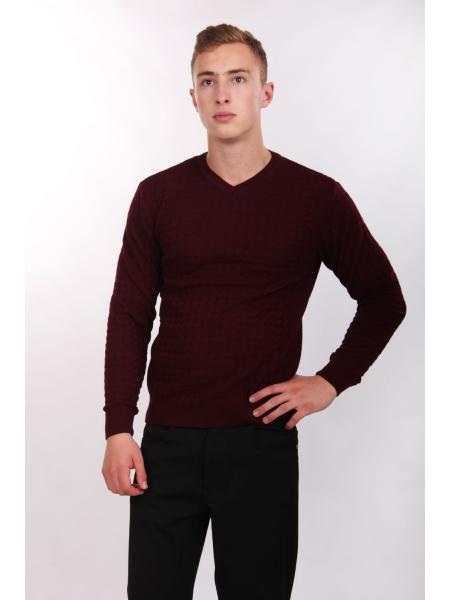 Augustus (bordeaux) jumper