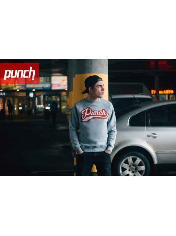 Свитшот Punch - Pitcher, Grey