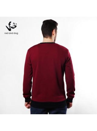 Corn Red and Dog (bordo) sweatshirt