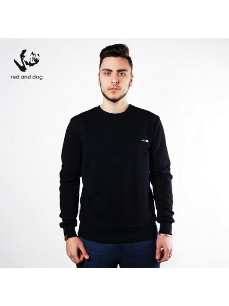 Corn Red and Dog (black) sweatshirt