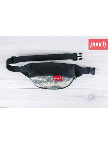 Поясная сумка Punch - Black/Acupat