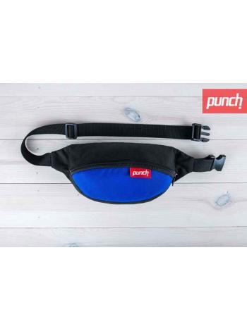 Поясная сумка Punch - Black/Blue