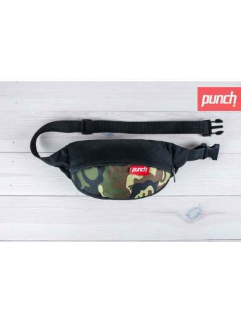 Поясная сумка Punch - Black/Camo