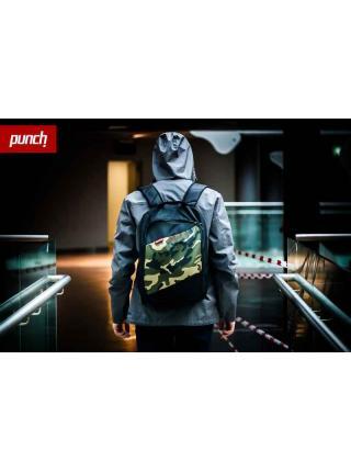 Rucksack Punch - Tilt, black/Camo