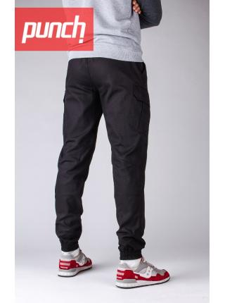 Cargo Rush Punch black trousers
