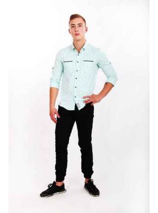 Рубашка Nils (мятный)