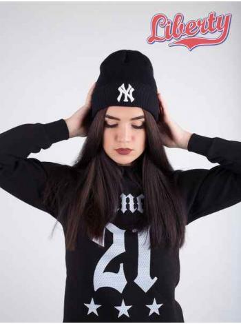 Шапка Liberty - New York Yankees, Black