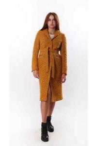 Afra (mustard) coat