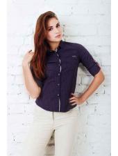 Рубашка Аделаида (фиолетовый)