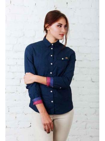 Рубашка Аделаида (синий)