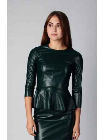 Блузка Орсина (темно-зеленый)