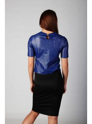 Palmyra (electric blue) top