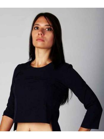 Блузка Исидора (темно-синий)