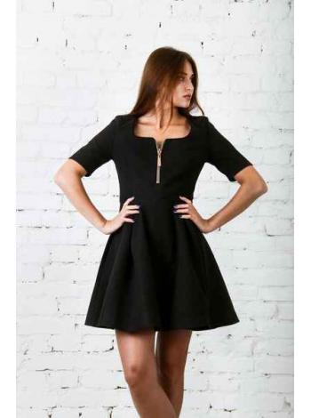 Платье Саншайн (черный)