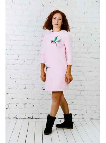 Платье Полетта (розовый)