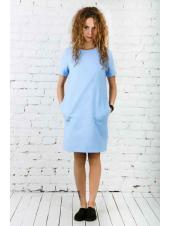 Платье Роксана (голубой)