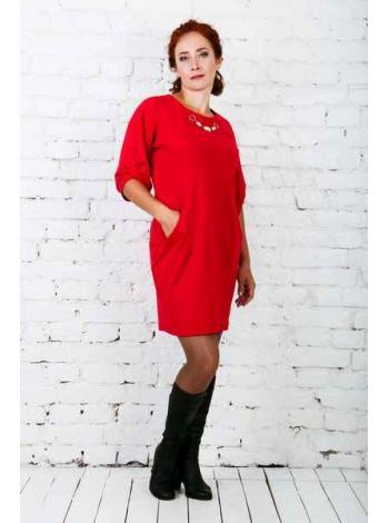 Платье Адди (красный)