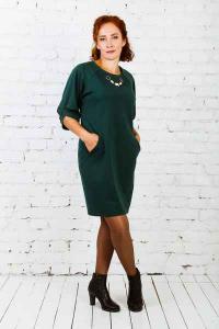 Платье Адди (зеленый)