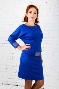 Belinda (blue) dress