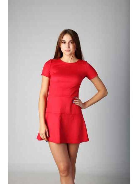 Платье Дотти (красный)