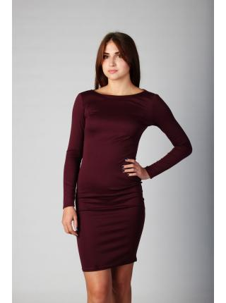 Платье Ориана (марсала)