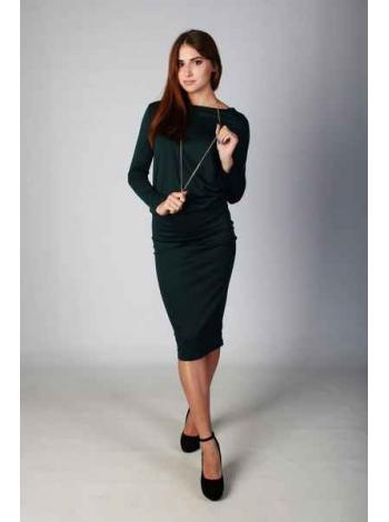 Платье Монтана (темно-зеленый)