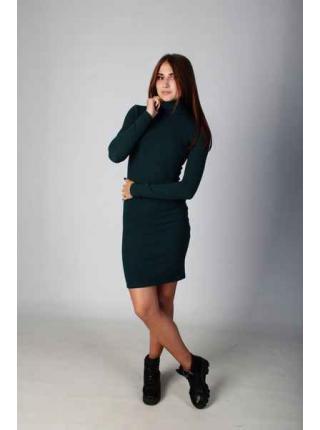 Hilary (dark green) dress