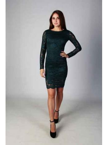 Платье Клементина (темно-зеленый)