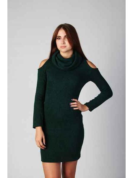Платье Лола (темно-зеленый)