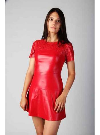 Платье Зана (красный)