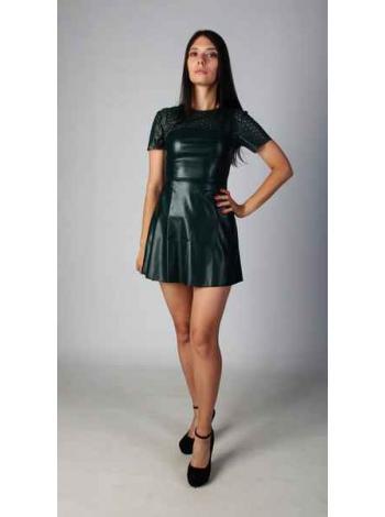 Платье Зана (темно-зеленый)