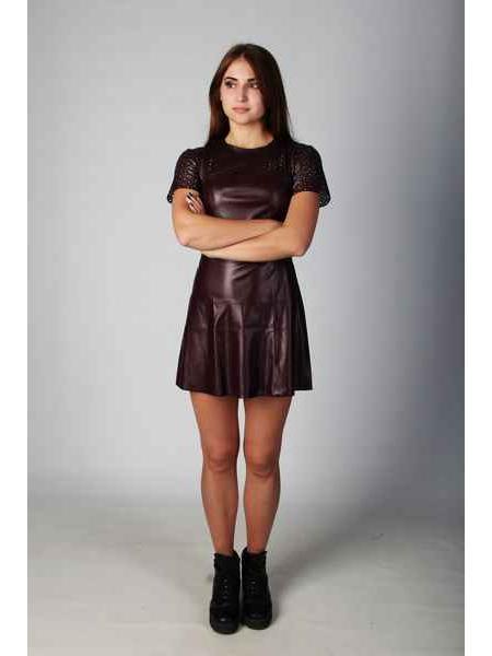 Платье Зана (марсала)