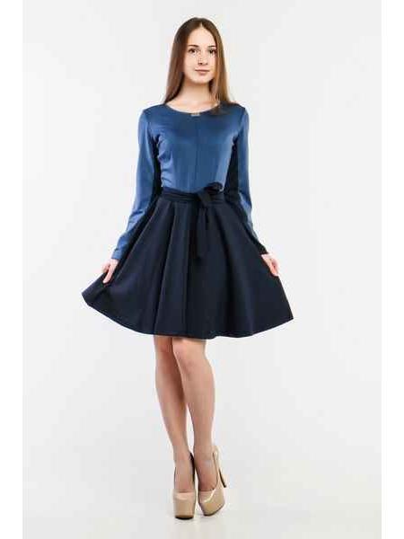 Платье Преста (синий)