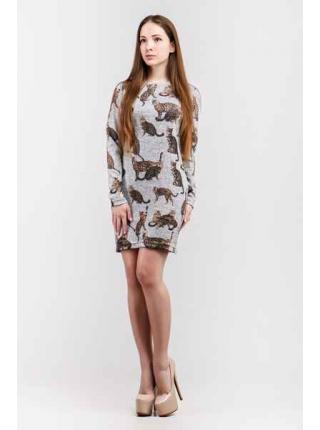 Платье Дольче Габбана мини (серый)
