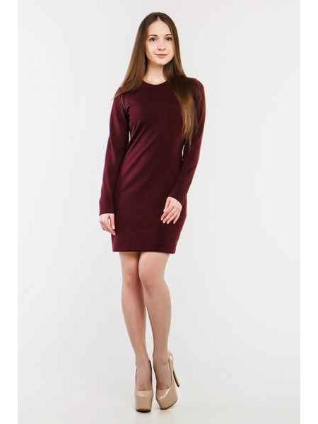 Платье Осла мини (марсала)