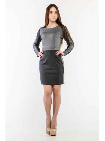 Платье Джейн (серый)