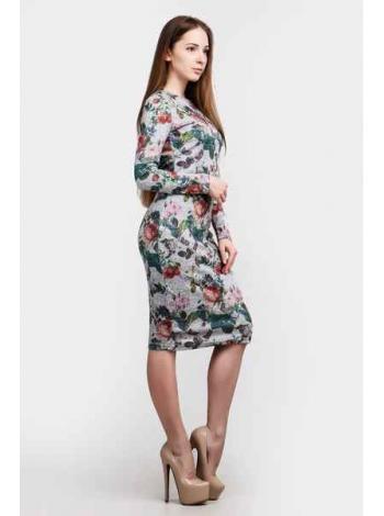 Платье Герда (серый)