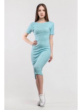Платье Джерси (голубой)