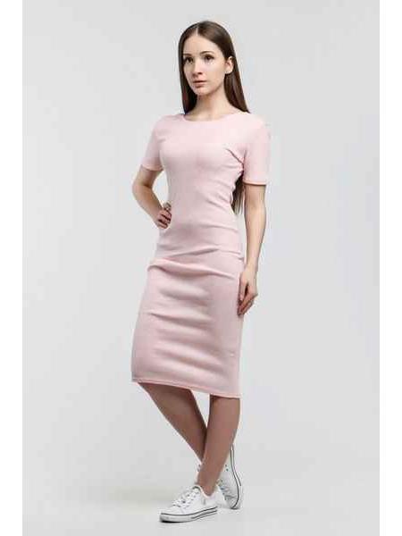 Платье Джерси (пудра)