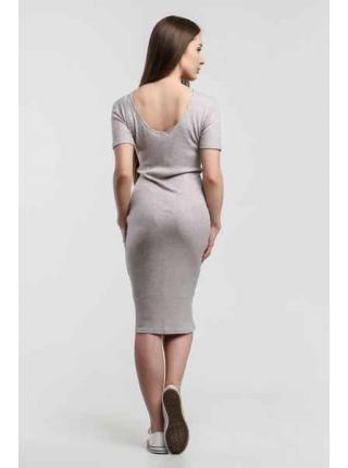 Платье Джерси (серый)