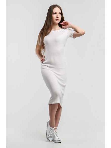 Платье Джерси (белый)