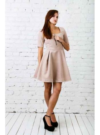 Платье Саншайн (бежевый)