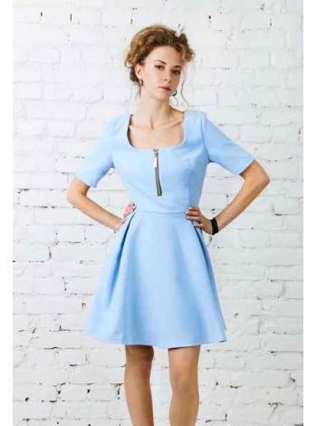 Платье Саншайн (голубой)