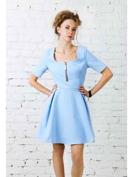 Sunshine (blue) dress