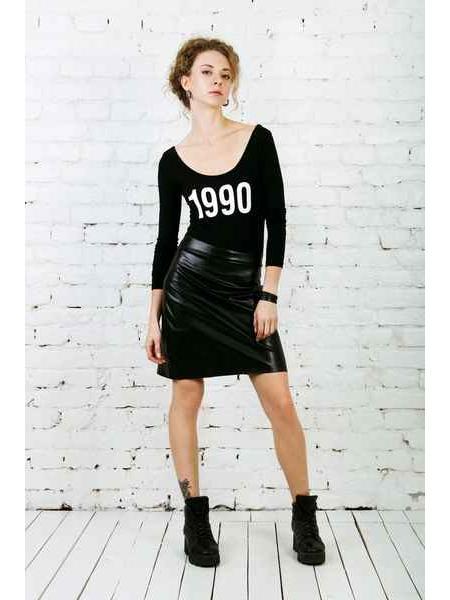 1990 (black) bodysuit