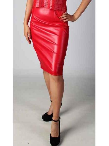 Vida (red) skirt