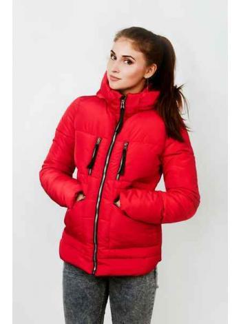 Женская куртка Женевьева (красный)